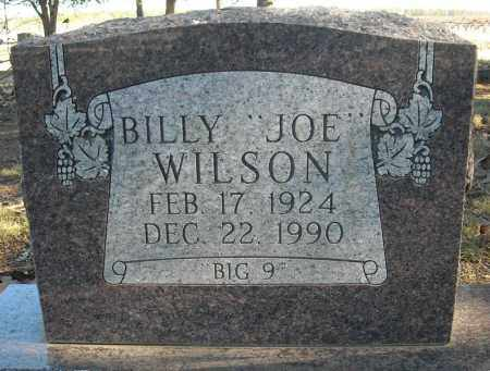 "WILSON, BILLY ""JOE"" - Faulkner County, Arkansas 