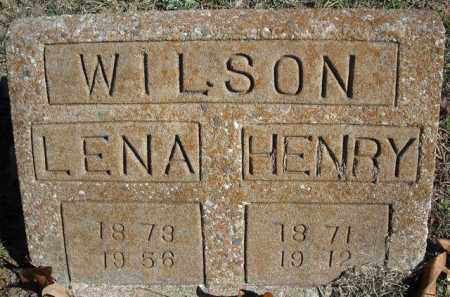 WILSON, LENA - Faulkner County, Arkansas | LENA WILSON - Arkansas Gravestone Photos