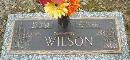 WILSON, VIRSEL H. - Faulkner County, Arkansas | VIRSEL H. WILSON - Arkansas Gravestone Photos