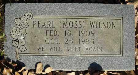 MOSS WILSON, PEARL - Faulkner County, Arkansas | PEARL MOSS WILSON - Arkansas Gravestone Photos