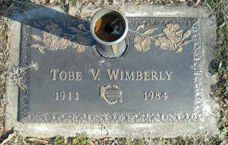 WIMBERLY, TOBE V. - Faulkner County, Arkansas | TOBE V. WIMBERLY - Arkansas Gravestone Photos