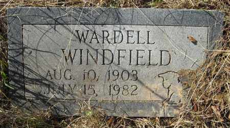 WINDFIELD, WARDELL - Faulkner County, Arkansas | WARDELL WINDFIELD - Arkansas Gravestone Photos