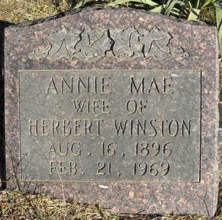WINSTON, ANNIE MAE - Faulkner County, Arkansas | ANNIE MAE WINSTON - Arkansas Gravestone Photos