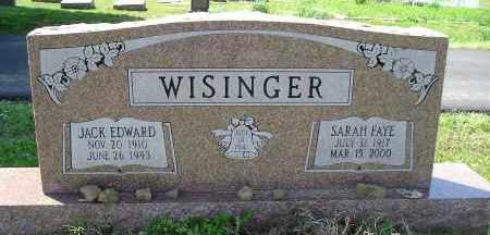 ROBINETTE WISINGER, SARAH FAYE - Faulkner County, Arkansas | SARAH FAYE ROBINETTE WISINGER - Arkansas Gravestone Photos