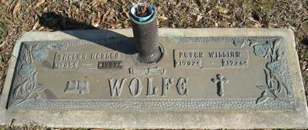 WOLFE, PETER WILLIAM - Faulkner County, Arkansas | PETER WILLIAM WOLFE - Arkansas Gravestone Photos