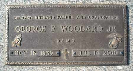 WOODARD (VETERAN), GEORGE F - Faulkner County, Arkansas | GEORGE F WOODARD (VETERAN) - Arkansas Gravestone Photos