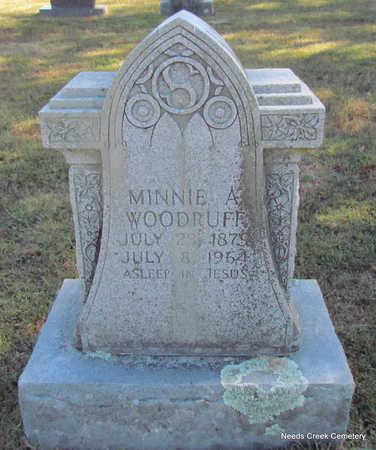 WOODRUFF, MINNIE A. - Faulkner County, Arkansas | MINNIE A. WOODRUFF - Arkansas Gravestone Photos
