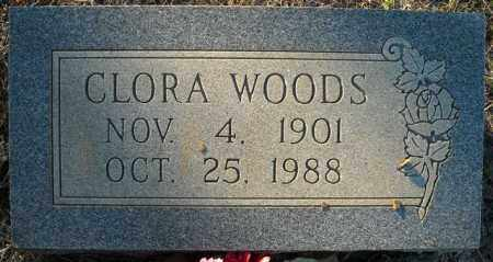 WOODS, CLORA - Faulkner County, Arkansas | CLORA WOODS - Arkansas Gravestone Photos