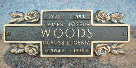 WOODS, GLADYS EUGENIA - Faulkner County, Arkansas | GLADYS EUGENIA WOODS - Arkansas Gravestone Photos