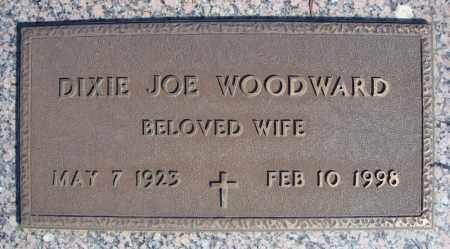 WOODWARD, DIXIE JOE - Faulkner County, Arkansas | DIXIE JOE WOODWARD - Arkansas Gravestone Photos