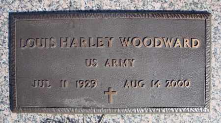 WOODWARD (VETERAN), LOUIS HARLEY - Faulkner County, Arkansas | LOUIS HARLEY WOODWARD (VETERAN) - Arkansas Gravestone Photos