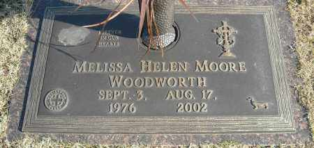 WOODWORTH, MELISSA HELEN - Faulkner County, Arkansas | MELISSA HELEN WOODWORTH - Arkansas Gravestone Photos