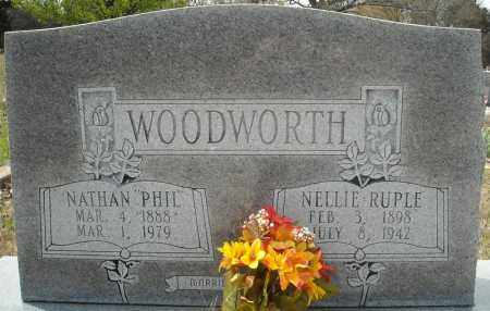 "WOODWORTH, NATHAN FILBERT ""PHIL"" - Faulkner County, Arkansas 