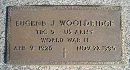 WOOLDRIDGE (VETERAN WWII), EUGENE J - Faulkner County, Arkansas | EUGENE J WOOLDRIDGE (VETERAN WWII) - Arkansas Gravestone Photos