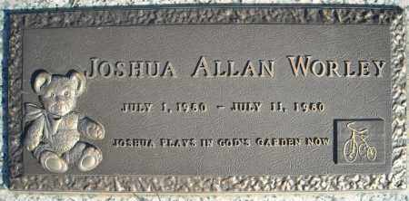 WORLEY, JOSHUA ALLAN - Faulkner County, Arkansas | JOSHUA ALLAN WORLEY - Arkansas Gravestone Photos