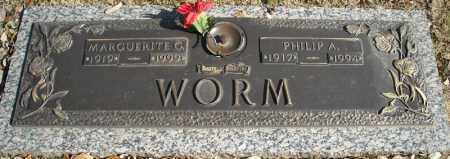 WORM, PHILLIP A. - Faulkner County, Arkansas | PHILLIP A. WORM - Arkansas Gravestone Photos