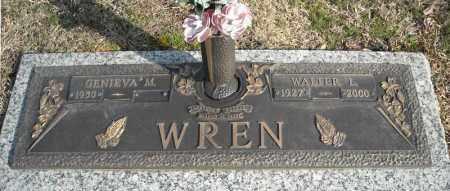 WREN, WALTER L. - Faulkner County, Arkansas | WALTER L. WREN - Arkansas Gravestone Photos
