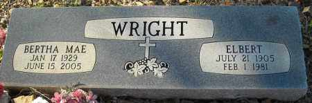 WRIGHT, ELBERT - Faulkner County, Arkansas | ELBERT WRIGHT - Arkansas Gravestone Photos