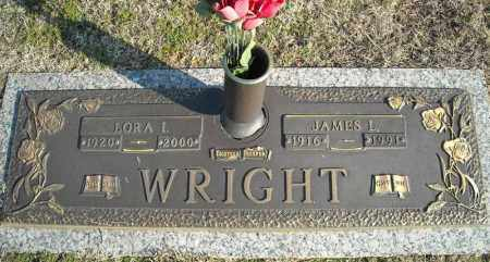WRIGHT, LORA I. - Faulkner County, Arkansas | LORA I. WRIGHT - Arkansas Gravestone Photos