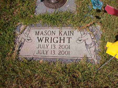 WRIGHT, MASON KAIN - Faulkner County, Arkansas | MASON KAIN WRIGHT - Arkansas Gravestone Photos