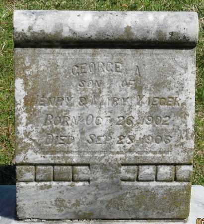 YAEGER, GEORGE A. - Faulkner County, Arkansas | GEORGE A. YAEGER - Arkansas Gravestone Photos