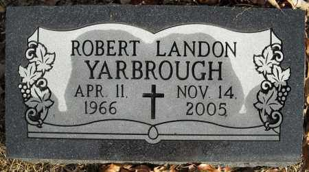 YARBROUGH, ROBERT LANDON - Faulkner County, Arkansas | ROBERT LANDON YARBROUGH - Arkansas Gravestone Photos