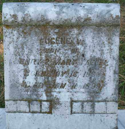 YEAGER, EUGENE W. - Faulkner County, Arkansas | EUGENE W. YEAGER - Arkansas Gravestone Photos