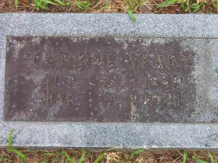 YEARY, CARLINE - Faulkner County, Arkansas | CARLINE YEARY - Arkansas Gravestone Photos