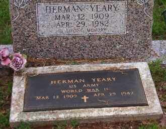 YEARY (VETERAN WWII), HERMAN - Faulkner County, Arkansas | HERMAN YEARY (VETERAN WWII) - Arkansas Gravestone Photos