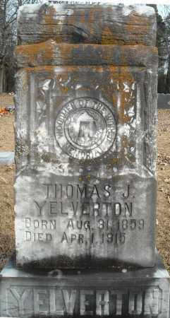 YELVERTON, THOMAS J. - Faulkner County, Arkansas | THOMAS J. YELVERTON - Arkansas Gravestone Photos