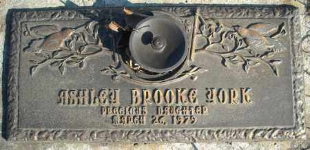 YORK, ASHLEY BROOKE - Faulkner County, Arkansas | ASHLEY BROOKE YORK - Arkansas Gravestone Photos
