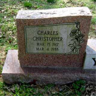 YOUNG, CHARLES CHRISTOPHER - Faulkner County, Arkansas | CHARLES CHRISTOPHER YOUNG - Arkansas Gravestone Photos