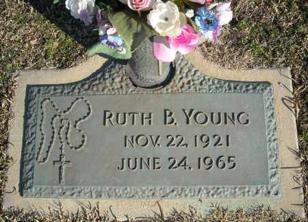 YOUNG, RUTH B. - Faulkner County, Arkansas | RUTH B. YOUNG - Arkansas Gravestone Photos