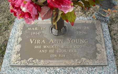 YOUNG, VIRA ANN - Faulkner County, Arkansas | VIRA ANN YOUNG - Arkansas Gravestone Photos