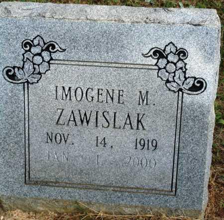 ZAWISLAK, IMOGENE M. - Faulkner County, Arkansas | IMOGENE M. ZAWISLAK - Arkansas Gravestone Photos