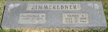 ZIMMEREBNER, HENRY A. - Faulkner County, Arkansas | HENRY A. ZIMMEREBNER - Arkansas Gravestone Photos