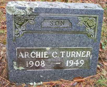 TURNER, ARCHIE C - Franklin County, Arkansas | ARCHIE C TURNER - Arkansas Gravestone Photos