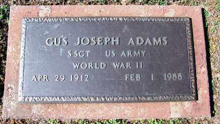 ADAMS (VETERAN WWII), GUS JOSEPH - Franklin County, Arkansas | GUS JOSEPH ADAMS (VETERAN WWII) - Arkansas Gravestone Photos