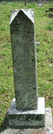 ADDY, B A - Franklin County, Arkansas | B A ADDY - Arkansas Gravestone Photos
