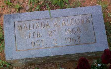 ALCORN, MALINDA A - Franklin County, Arkansas | MALINDA A ALCORN - Arkansas Gravestone Photos