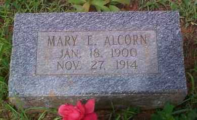 ALCORN, MARY E - Franklin County, Arkansas | MARY E ALCORN - Arkansas Gravestone Photos