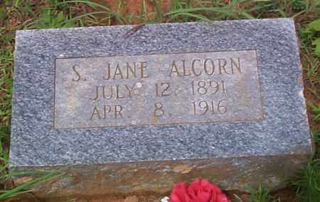 ALCORN, S  JANE - Franklin County, Arkansas | S  JANE ALCORN - Arkansas Gravestone Photos