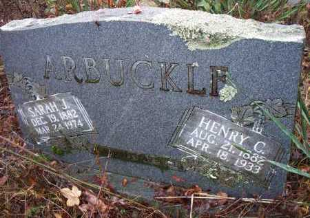 ARBUCKLE, SARAH J - Franklin County, Arkansas | SARAH J ARBUCKLE - Arkansas Gravestone Photos