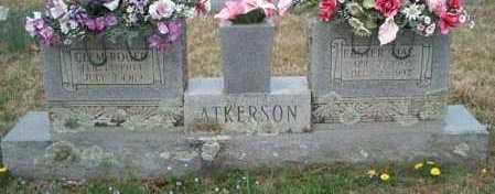 ATKERSON, EASTER MAE - Franklin County, Arkansas | EASTER MAE ATKERSON - Arkansas Gravestone Photos