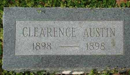 AUSTIN, CLEARENCE - Franklin County, Arkansas | CLEARENCE AUSTIN - Arkansas Gravestone Photos