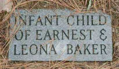 BAKER, INFANT - Franklin County, Arkansas | INFANT BAKER - Arkansas Gravestone Photos