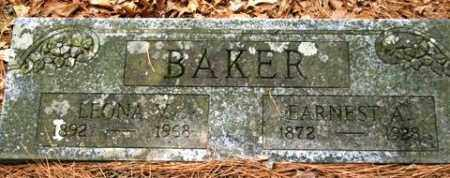 BAKER, EARNEST A - Franklin County, Arkansas | EARNEST A BAKER - Arkansas Gravestone Photos
