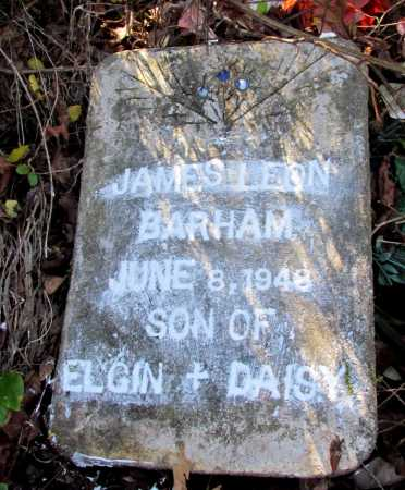 BARHAM, JAMES LEON - Franklin County, Arkansas | JAMES LEON BARHAM - Arkansas Gravestone Photos