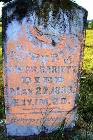 BARIETT, ROBERT L - Franklin County, Arkansas | ROBERT L BARIETT - Arkansas Gravestone Photos