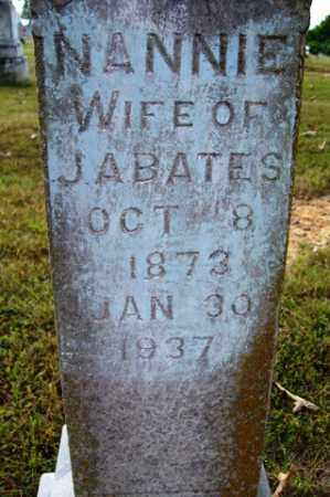 "BATES, NANCY JANE ""NANNIE"" - Franklin County, Arkansas 
